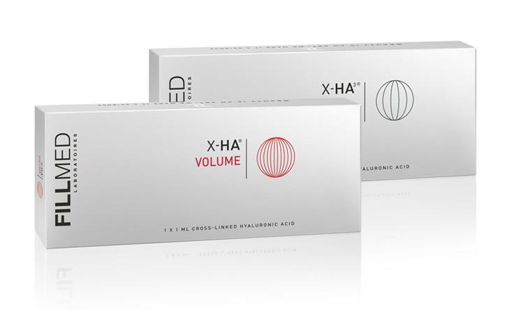 Product range X-HA Volume | Fillmed