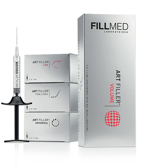 Range art filler Hyaluronic acid to fill wrinkles Correct with dermal fillers