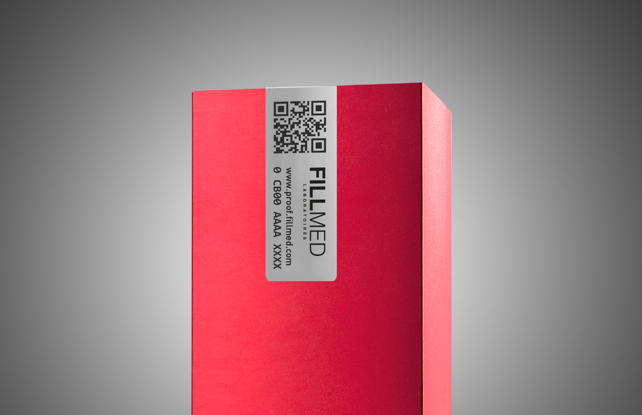 Pink packaging of a product | Fillmed